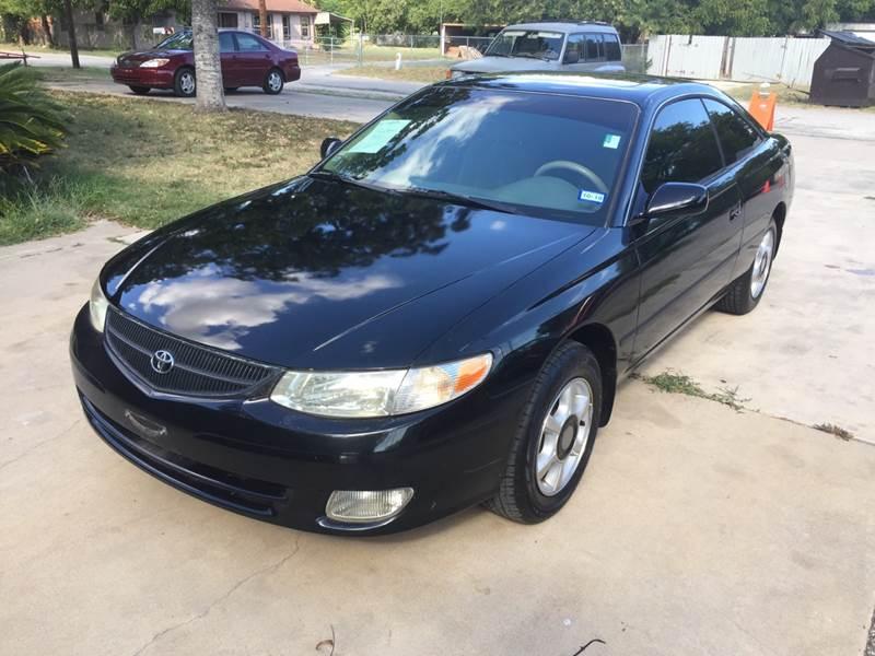 2000 Toyota Camry Solara For Sale At John 3:16 Motors In San Antonio TX