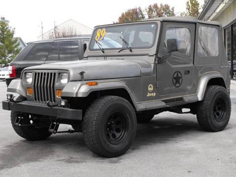 89 jeep wrangler