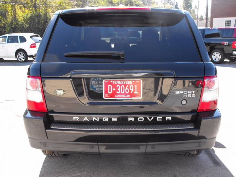 2009 Land Rover Range Rover Sport 4x4 HSE 4dr SUV In Maryville TN ...