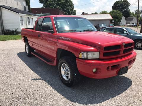 1999 Dodge Ram Pickup 1500 for sale at Bridge Street Auto Sales in Cynthiana KY