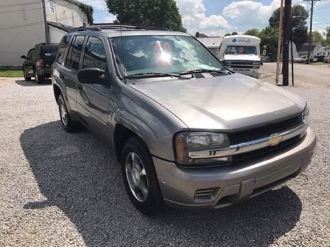 2007 Chevrolet TrailBlazer for sale at Bridge Street Auto Sales in Cynthiana KY