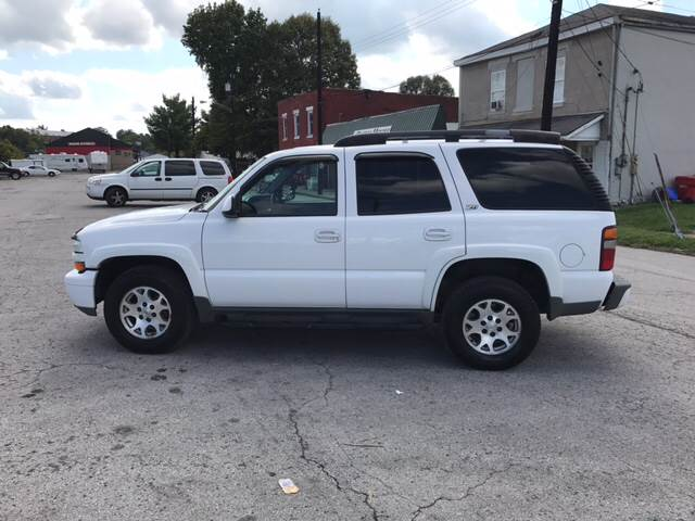 2003 Chevrolet Tahoe for sale at Bridge Street Auto Sales in Cynthiana KY