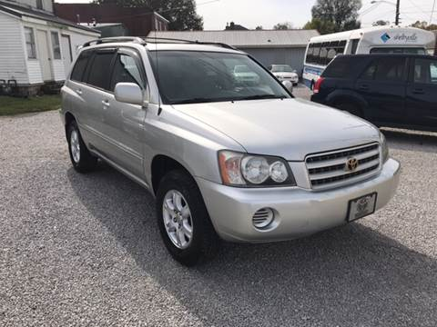 2002 Toyota Highlander for sale at Bridge Street Auto Sales in Cynthiana KY