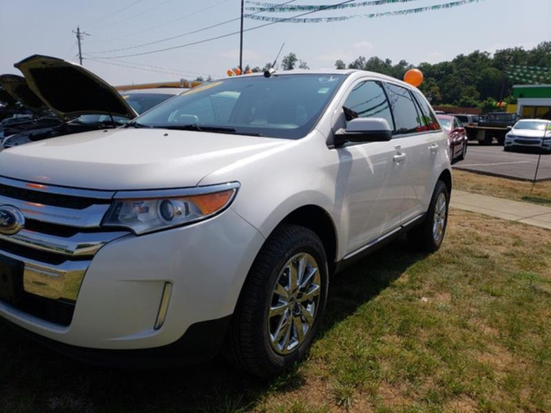 Ford Edge Awd Sel Dr Crossover Johnson City Tn