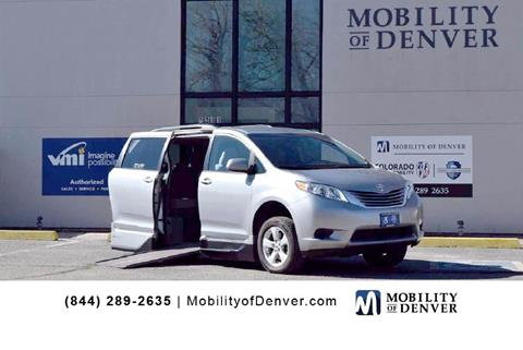 95b6d91b16f30d Used Toyota Sienna For Sale in Denver