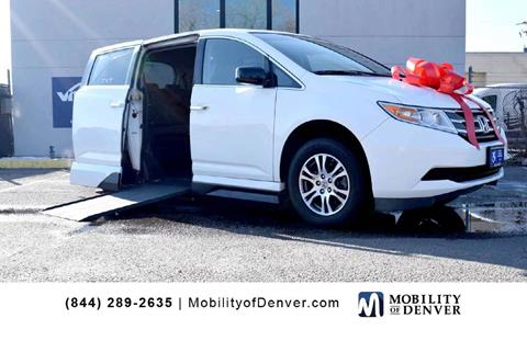 b45befb4ac5823 2012 Honda Odyssey for sale at CO Fleet   Mobility in Denver CO