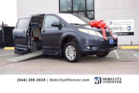 c7a40e585788cf 2014 Toyota Sienna for sale at CO Fleet   Mobility in Denver CO