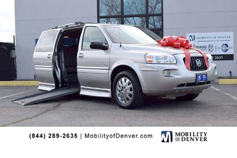 178fd7b602fa95 2007 Buick Terraza for sale at CO Fleet   Mobility in Denver CO