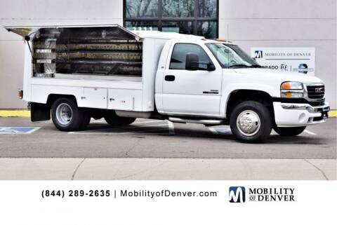 2007 GMC Sierra 3500 CC Classic for sale at CO Fleet & Mobility in Denver CO
