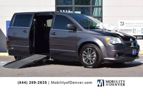 2017 Dodge Grand Caravan for sale at CO Fleet & Mobility in Denver CO
