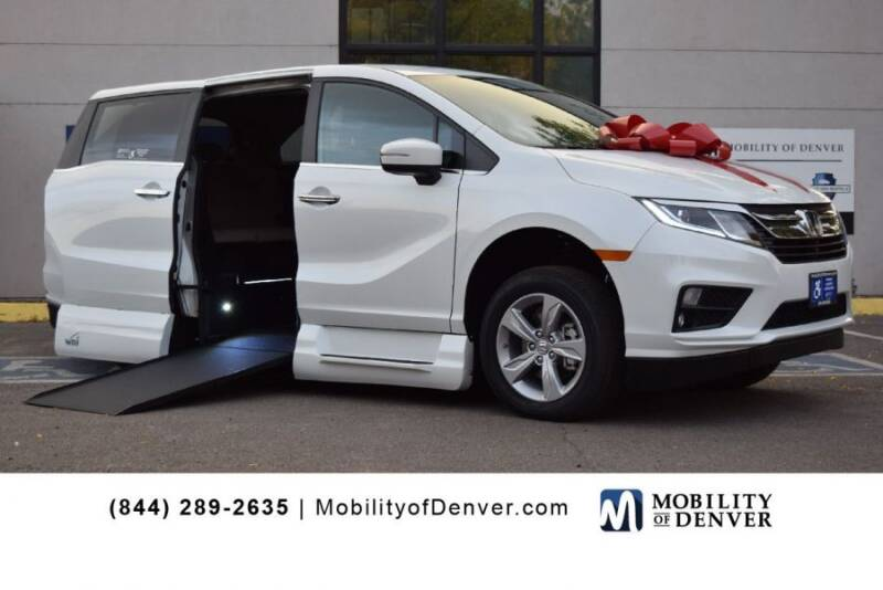 2020 Honda Odyssey for sale at CO Fleet & Mobility in Denver CO