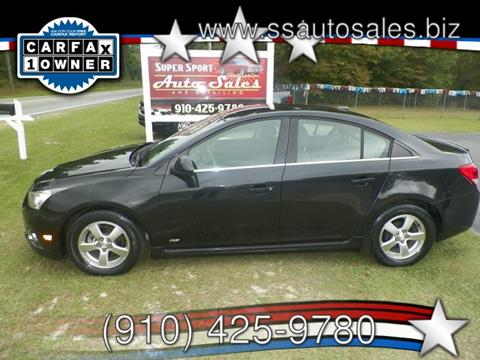 2012 Chevrolet Cruze for sale in Hope Mills, NC