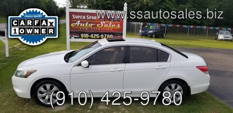 2010 Honda Accord for sale at Super Sport Auto Sales in Hope Mills NC