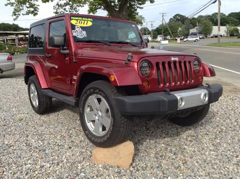 2011 Jeep Wrangler for sale in Clinton, CT
