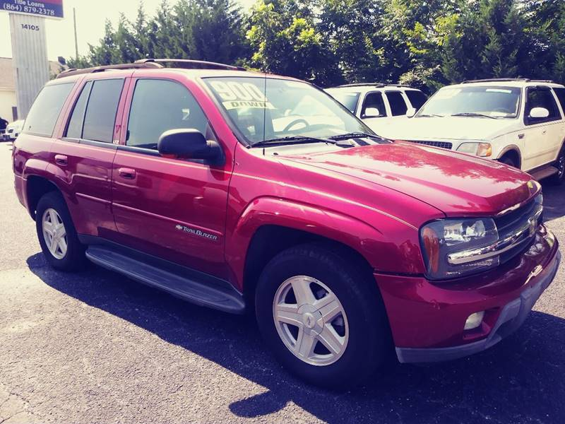 2002 Chevrolet TrailBlazer for sale at AFFORDABLE AUTO GREER in Greer SC