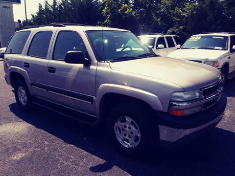 2005 Chevrolet Tahoe for sale at AFFORDABLE AUTO GREER in Greer SC
