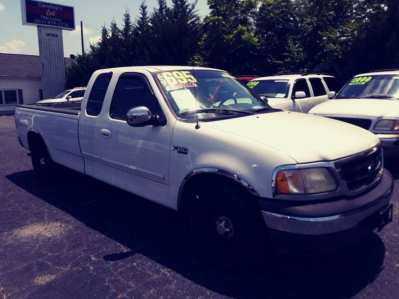 2000 Ford F-150 for sale at AFFORDABLE AUTO GREER in Greer SC