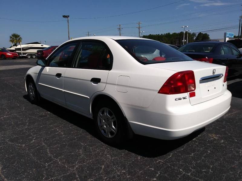 2001 Honda Civic for sale at AFFORDABLE AUTO GREER in Greer SC