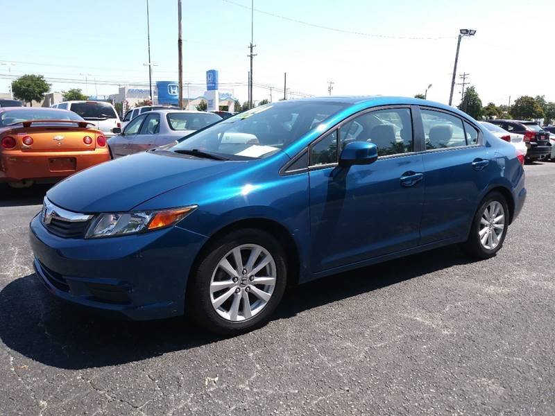 2012 Honda Civic for sale at AFFORDABLE AUTO GREER in Greer SC
