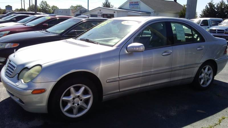 2003 Mercedes-Benz C-Class for sale at AFFORDABLE AUTO GREER in Greer SC
