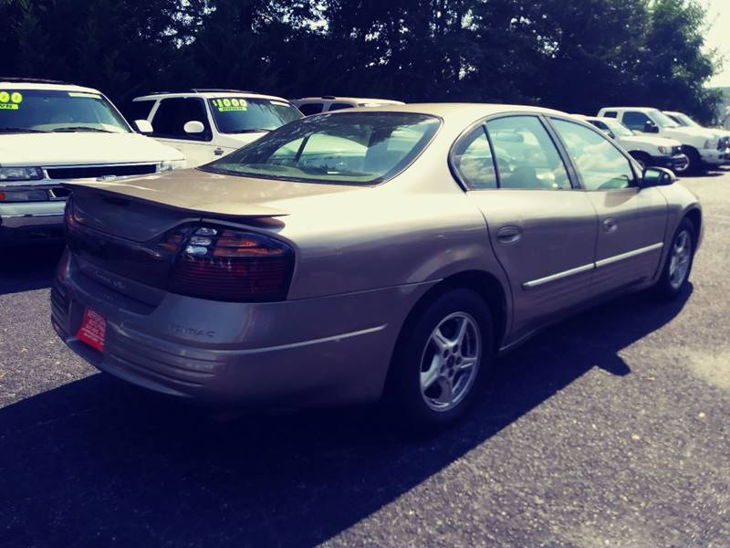 2002 Pontiac Bonneville for sale at AFFORDABLE AUTO GREER in Greer SC