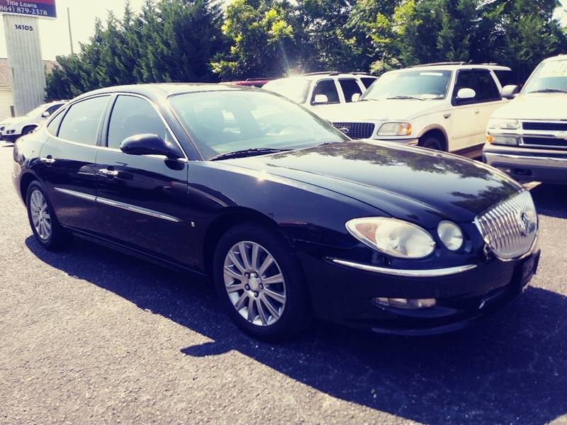2008 Buick LaCrosse for sale at AFFORDABLE AUTO GREER in Greer SC