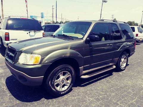 2003 Ford Explorer Sport for sale at AFFORDABLE AUTO GREER in Greer SC