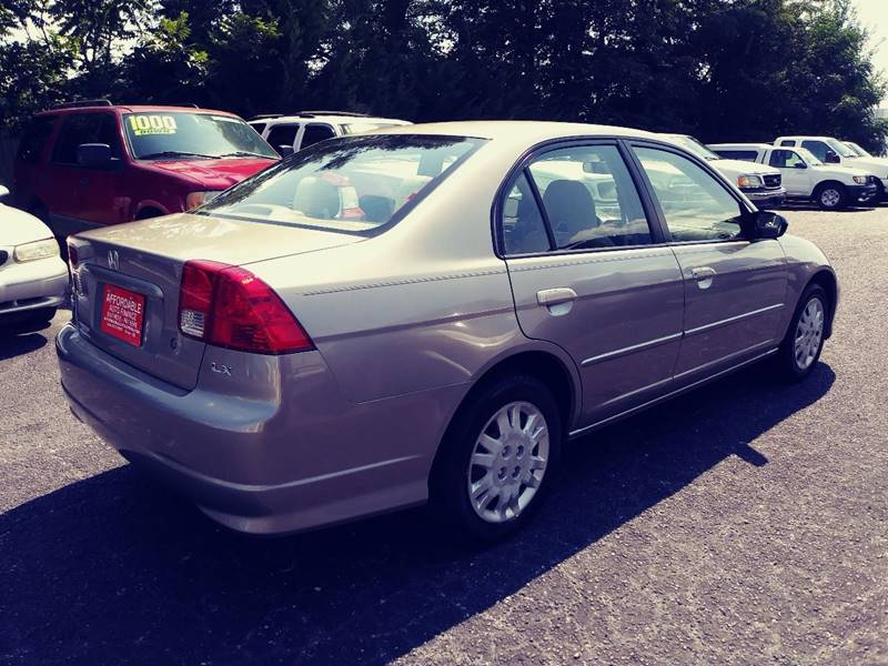 2005 Honda Civic for sale at AFFORDABLE AUTO GREER in Greer SC
