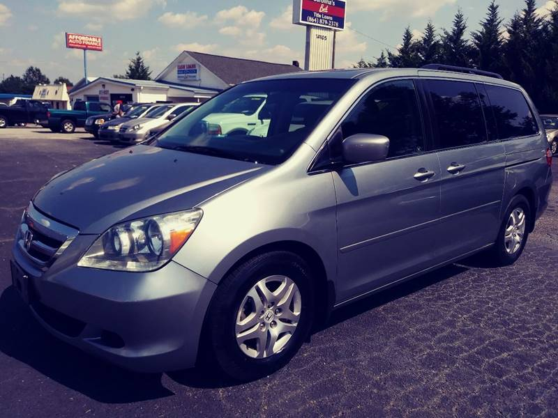 2007 Honda Odyssey for sale at AFFORDABLE AUTO GREER in Greer SC
