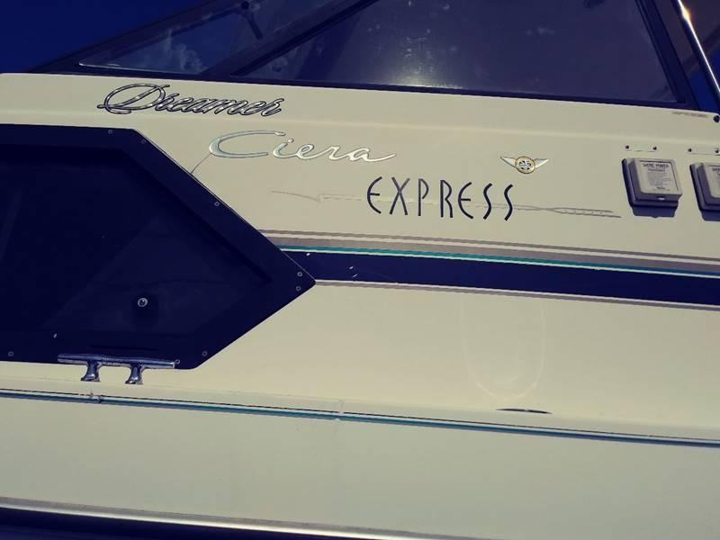 1998 Bayliner 2452 Express Ciera  for sale at AFFORDABLE AUTO GREER in Greer SC