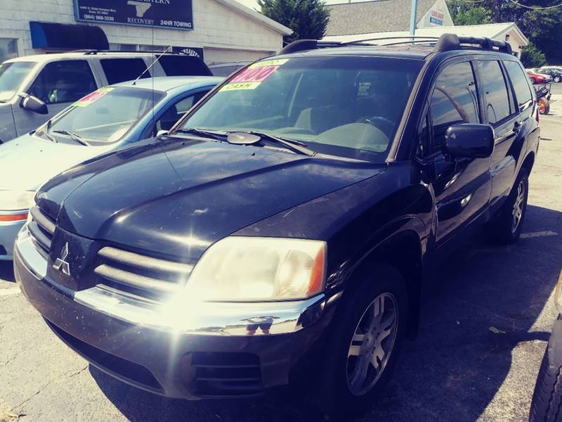 2004 Mitsubishi Endeavor for sale at AFFORDABLE AUTO GREER in Greer SC