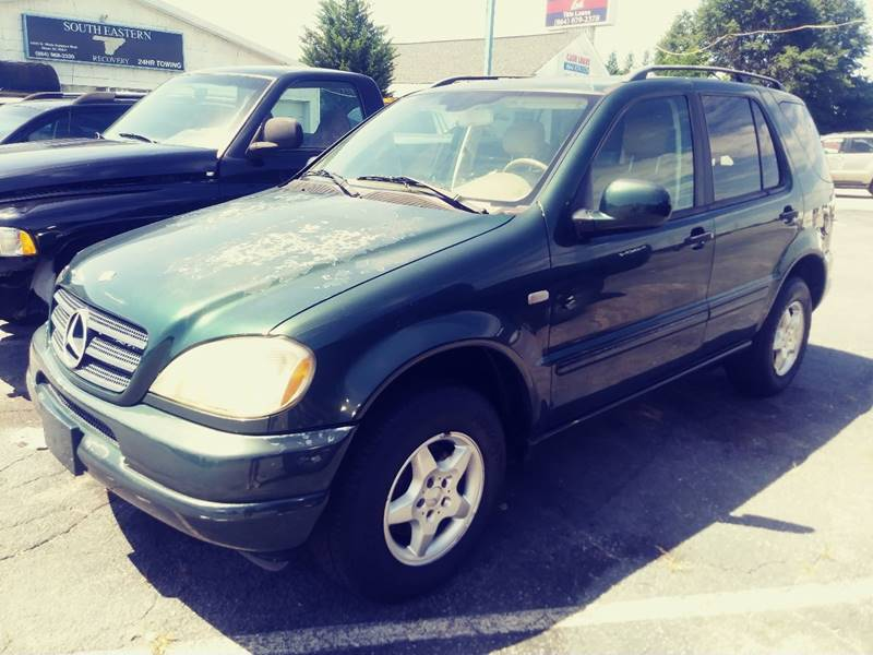 2001 Mercedes-Benz M-Class for sale at AFFORDABLE AUTO GREER in Greer SC