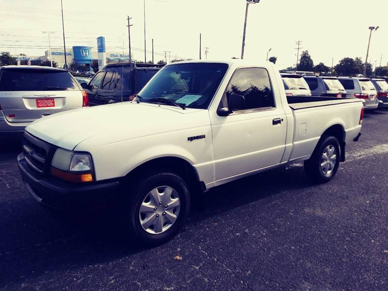 2000 Ford Ranger for sale at AFFORDABLE AUTO GREER in Greer SC