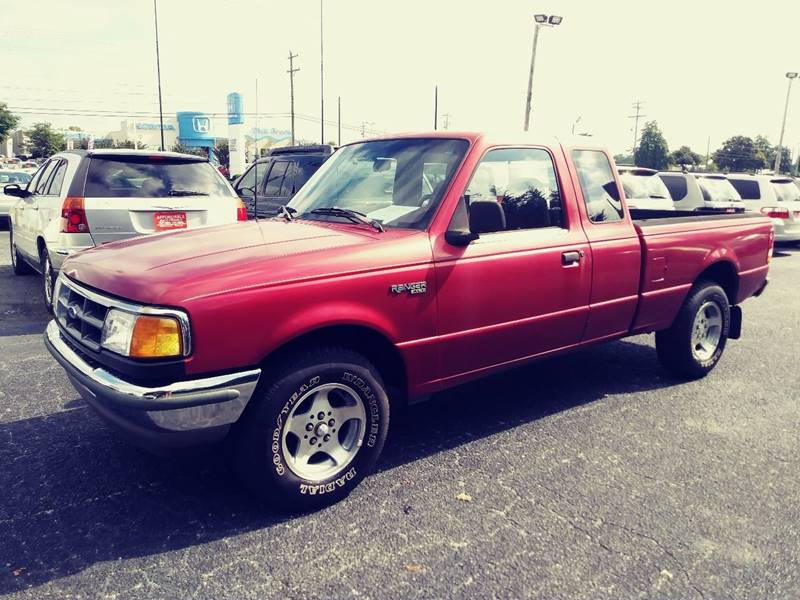 1994 Ford Ranger for sale at AFFORDABLE AUTO GREER in Greer SC