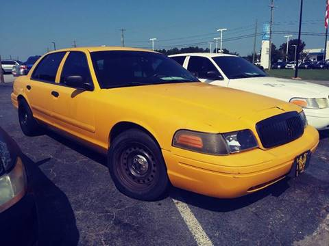 2008 Ford Crown Victoria for sale at AFFORDABLE AUTO GREER in Greer SC