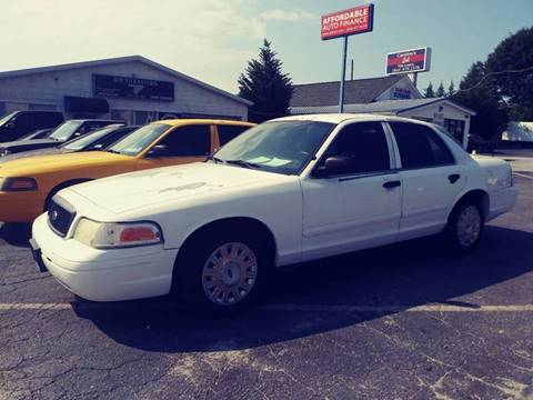 2004 Ford Crown Victoria for sale at AFFORDABLE AUTO GREER in Greer SC