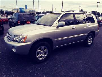 2002 Toyota Highlander for sale at AFFORDABLE AUTO GREER in Greer SC