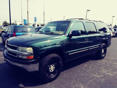 2002 Chevrolet Suburban for sale at AFFORDABLE AUTO GREER in Greer SC