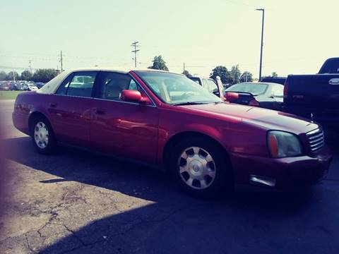 2002 Cadillac DeVille for sale at AFFORDABLE AUTO GREER in Greer SC