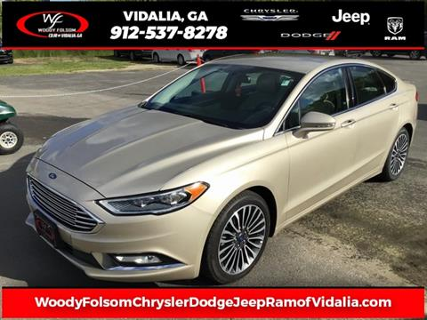 Woody Folsom Dodge >> Woody Folsom Chrysler Dodge Jeep Ram Of Vidalia Vidalia Ga