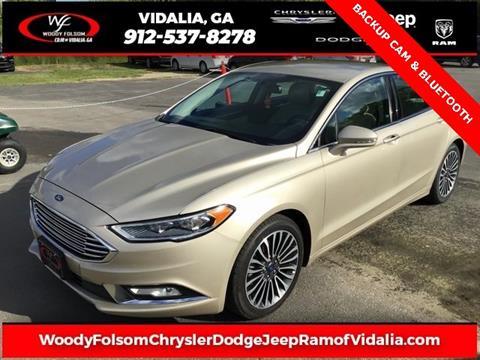 2017 Ford Fusion for sale in Vidalia, GA