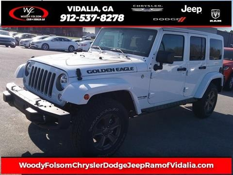 2018 Jeep Wrangler Unlimited for sale in Vidalia, GA