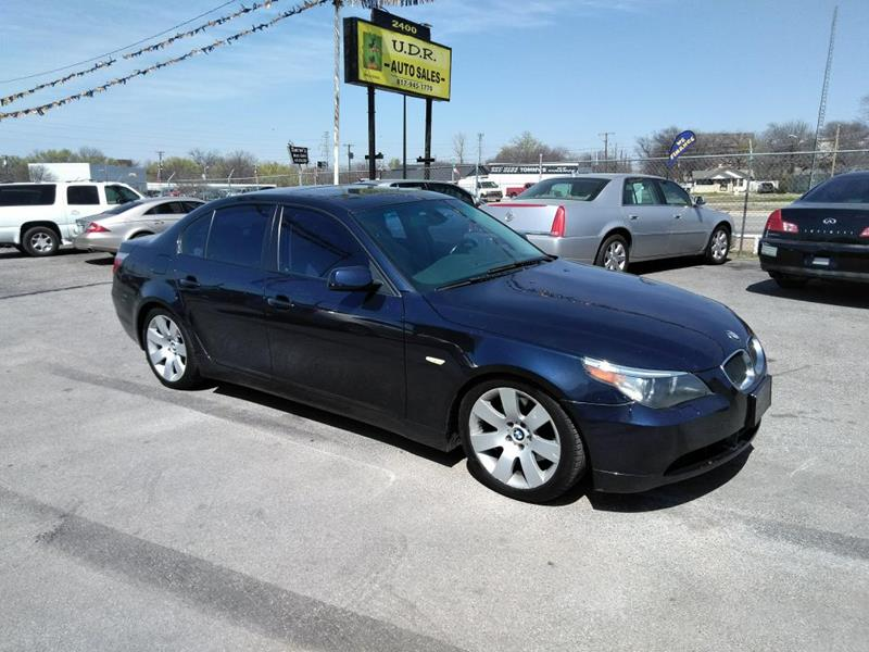 2004 BMW 5 Series 530i In Fort Worth TX - UDR Auto Sales