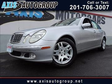 2004 Mercedes-Benz E-Class for sale in Jersey City, NJ