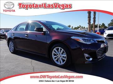 2014 Toyota Avalon for sale in Las Vegas, NV