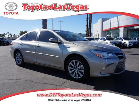 2017 Toyota Camry Hybrid for sale in Las Vegas, NV