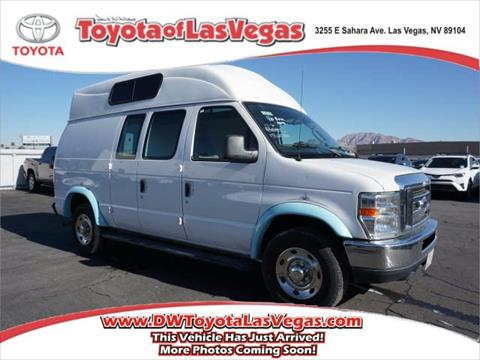 2012 Ford E Series Cargo For Sale In Las Vegas NV