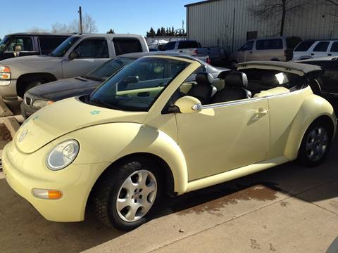 2003 Volkswagen New Beetle for sale in Brighton, CO