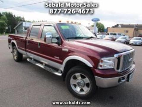 2006 Ford F-250 Super Duty for sale in Askov MN