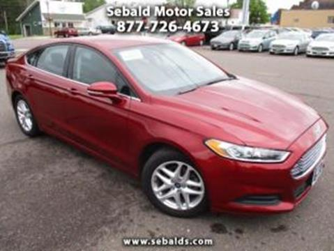 2013 Ford Fusion for sale in Askov, MN